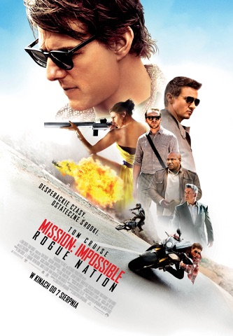 Mission_ Impossible. Rogue Nation - plakat bez Imaxa